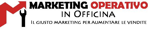 Corso logo Marketing operativo in officina