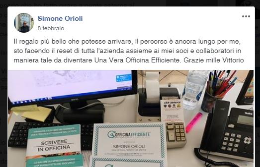 Simone Orioli x scrivere in officina