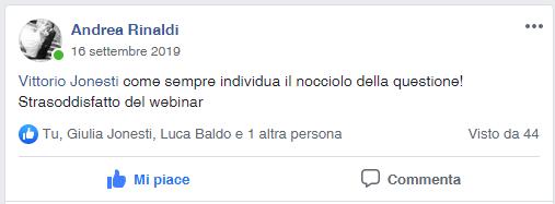 rinaldi x recensione Marketing operativo in officina