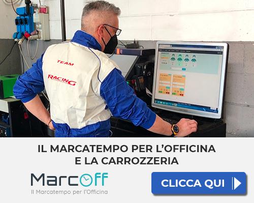 MARCOFF marcatempo per l'officina e la carrozzeria